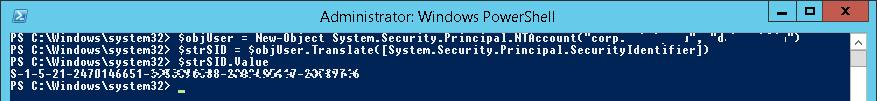 System.Security.Principal.SecurityIdentifier